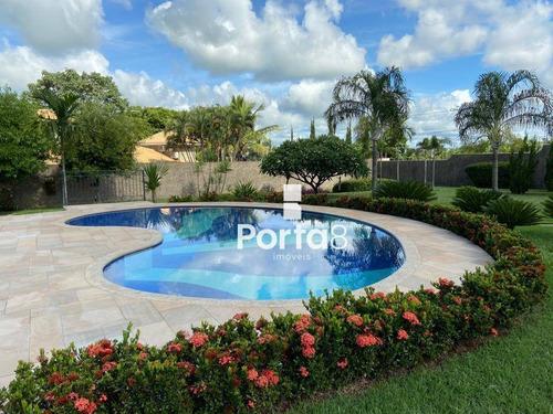 Chácara Com 3 Dormitórios À Venda, 4367 M² Por R$ 3.000.000,00 - Jardim Dos Coqueiros - Catanduva/sp - Ch0079