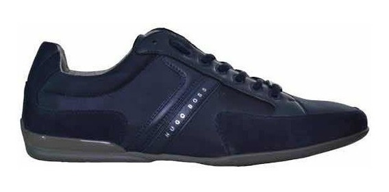 Tenis Hugo Boss Spacit Navy Nuevos 100% Originales