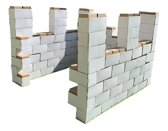 60 Bloques Gigantes De Cartón Mamut Cardboard Toys