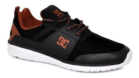 Tênis Dc Shoes Heathrow Prestige Preto/marrom/branco