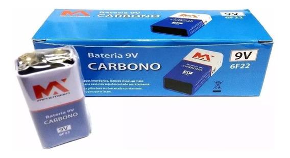Bateria 9v Caixa Com 10 Unidades Hw Revenda Atacado