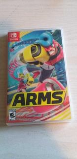 Arms Nintendo Switch Juego Usado