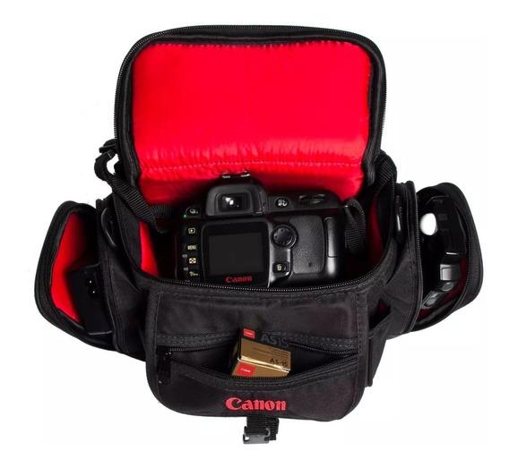Capa Case P/ Canon T3 T4 T5 T3i T4i T5i T6i T7i Dslr T6s