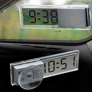 Reloj Lcd Para Parabrisas Coche 2019 Uber Tsuru Vento Taxi