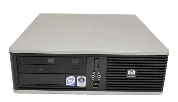 Pc Hp Dc 7800 4gb De Ram Disco De 160 Gb Win 7 Officce Garantia