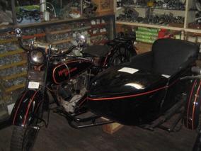 Harley Davidson Jd 1200cc Con Side Cuotas !!