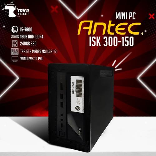 Imagen 1 de 1 de Computadora Mini Pc Antec Isk 300-150