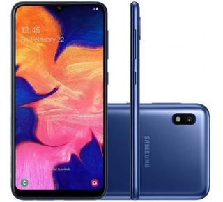 Celular Samsung A105m Galaxy A10 Dual Tela 6.2 32gb Azul