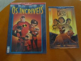 Graphic Novel Disney - Irmão Urso E Os Incriveis Gibi Hq