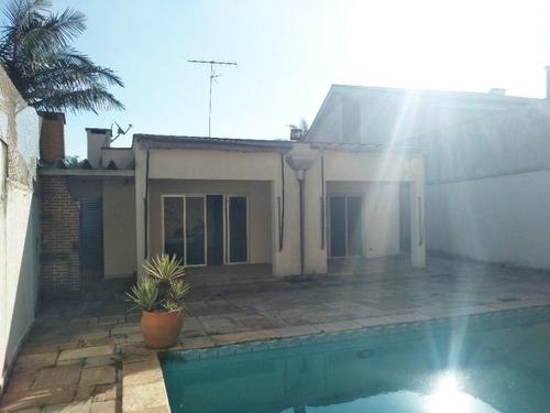 Imagem 1 de 30 de Casa Com Piscina Em Rua Fechada 3 Suítes - Jardim Marajoara Nobre - Ca0982