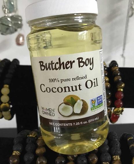 Aceite De Coco Comestible Cosmetico Sellado Hecho En Usa