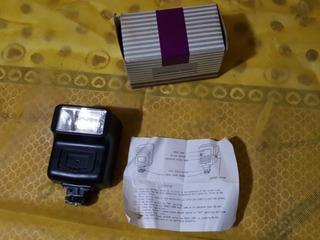 Flash Eletronico P/ Camera Maquina Fotografica Antiga