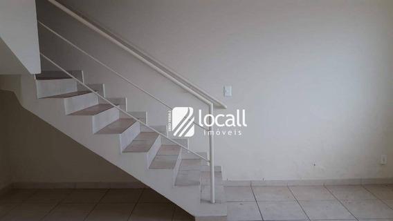 Casa Com 2 Dormitórios Para Alugar, 100 M² Por R$ 770/mês - Ca1840