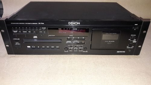 Denon Dn T620 Professional Cd Player Cassette Player Japan