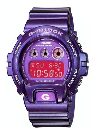 Relógio Casio G Shock Roxo Produto Novo E Original