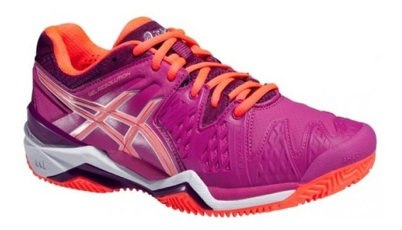 Tênis Asics Gel Resolution 6 Clay - Berry/flash Coral/plum