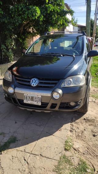 Volkswagen Crossfox 1.6 Comfortline 2009 Gnc 5° Gen