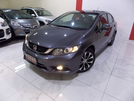 Honda Civic Lxr 2016 2.0 Automático + Couro (unico Dono) Top