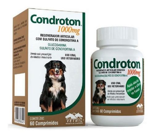Regenerador Articular Vetnil Condroton 60 Comprimidos 1000mg
