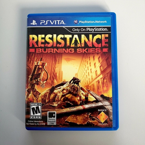 Resistance Burning Skies Ps Vita Psvita Original