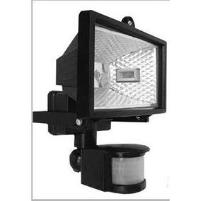 Refletor Com Sensor De Presença Para Lampadas Halógena