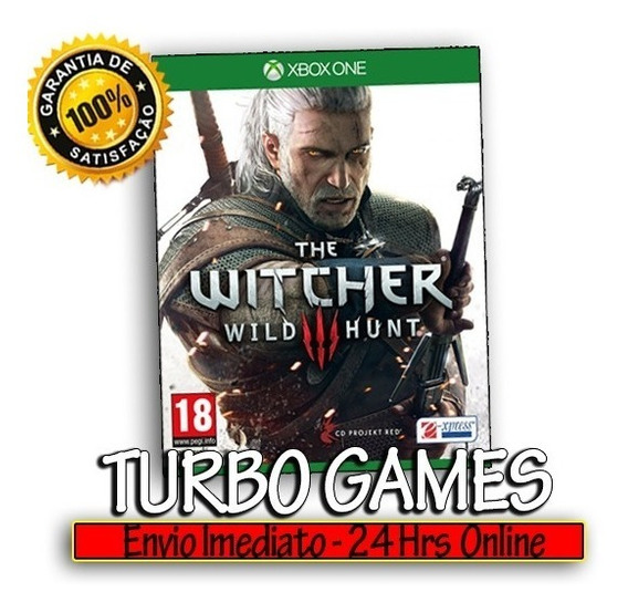 The Witcher 3 Gold Xbox One Midia Digital