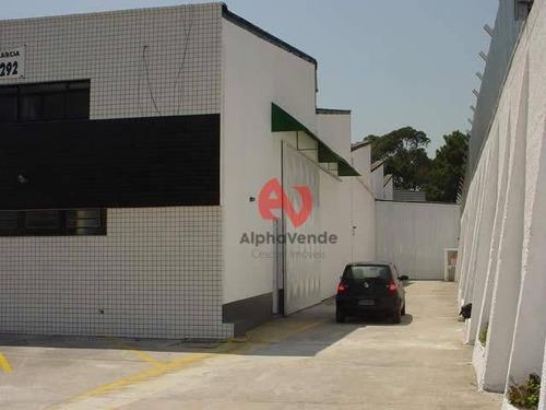 Galpão Para Alugar, 1200 M² Por R$ 20.000,00/mês - Jardim Califórnia - Barueri/sp - Ga0672
