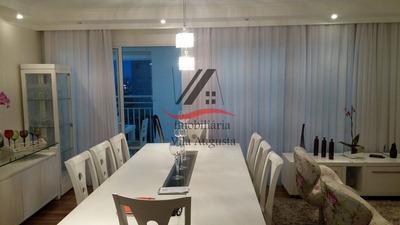 Apartamento Parque Clube Guarulhos, 150m², 4 Dorm, 3 Suítes E 2 Vagas De Garagem, Pronto Para Morar - Ap694