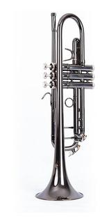 Trompeta Negra Marca Prelude París Ref. 6418-bn