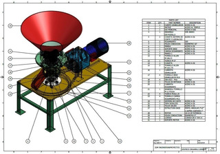 Planos Diseño De Peletizadora De Alimentos Cap 100-200 Kg/hr