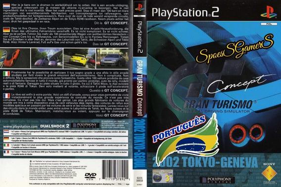 Gran Turismo Concept Tokyo Geneva Ps2 Carros Patch Português