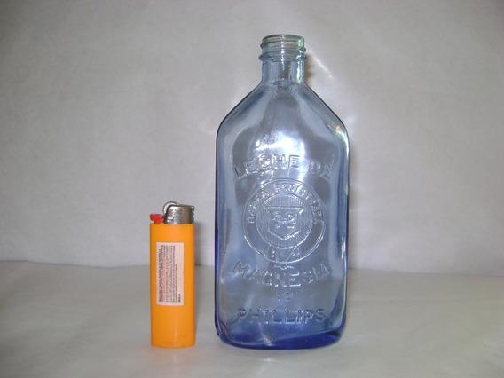Antigua Botella..leche De Magnecia Phillips..impecable..
