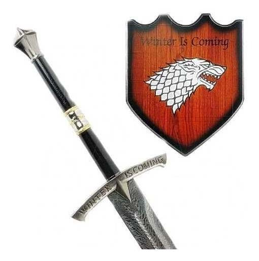 Espada Medieval Game Of Thrones Winter Is Coming 116cm