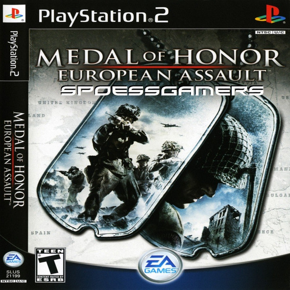 Medal Of Honor European Assault Ps2 Desbloqueado Patch