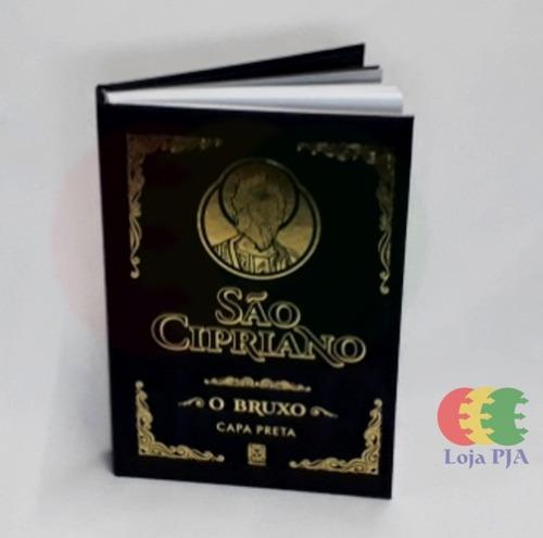Imagem 1 de 4 de Livro De São Cipriano O Bruxo Capa Preta Oferta (ed. Pallas)