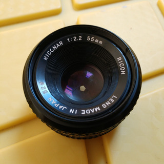 Lente Ricoh 55mm F2.2 Riconar Montura Pentax