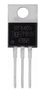2x Transistor Irf640 Irf640n 200v 18a 0.15 Transistor