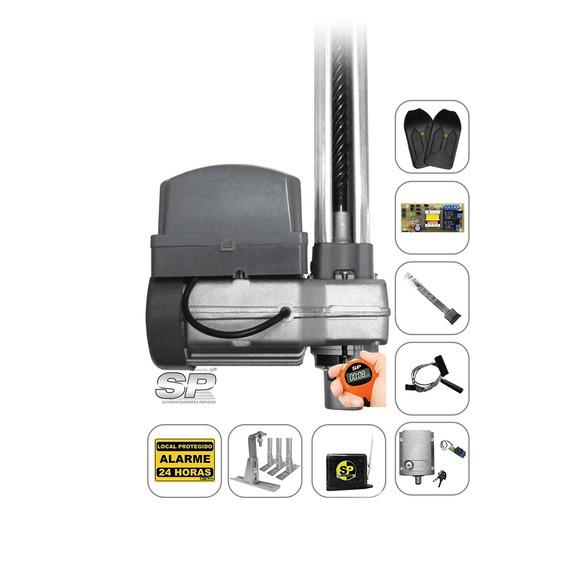 Kit Motor Portão Eletrônico Bv 1/3 Ppa Trava Suporte Tx Car