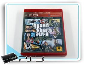 Gta Episodes From Liberty City Original Playstation 3 Ps3