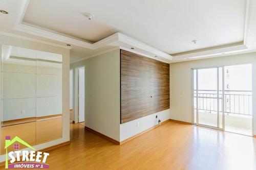 Imagem 1 de 30 de Apartamento 3 Dormitórios Com 2 Vagas Na Rua Do Shopping Maia. - Ap00488 - 69878834