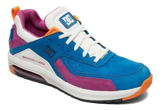 Zapatillas De Vestir Dc Shoes Vandium Se (aqua ) Nuevas!!!