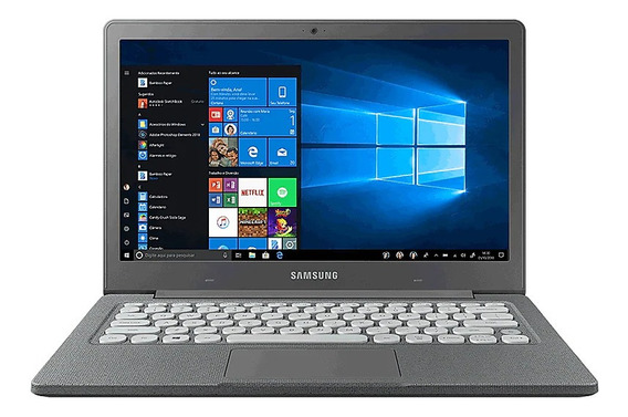 Notebook Samsung Flash F30 4gb 64gb Ssd W10 13.3 Cinza