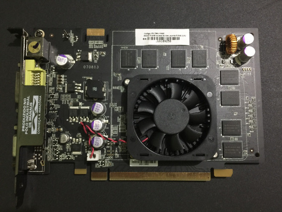 Placa De Vídeo Nvidia Geforce 8500 Gt Xfx 512mb 128-bit