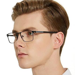 Ocio Chiari Gafas Para Hombre Rectangulares Con Borde Comple