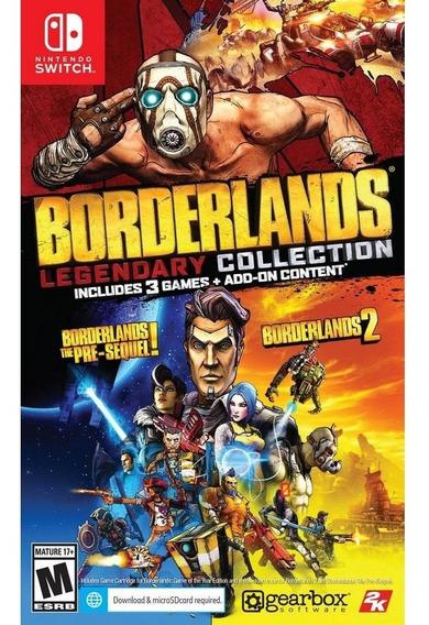 Borderlands Legendary Collection Switch Mídia Física