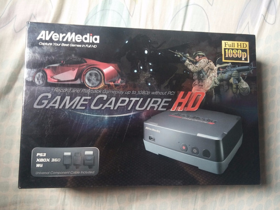 Avermedia Game Capture Hd Ps3 X360 E Wii