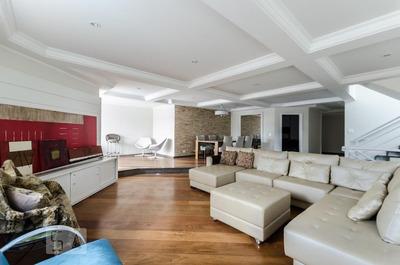 Casa Em Condomínio Mobiliada Com 4 Dormitórios E 4 Garagens - Id: 892884688 - 184688