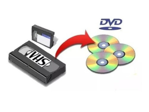 Vhs A Dvd O Pendrive Digitalización En La Plata