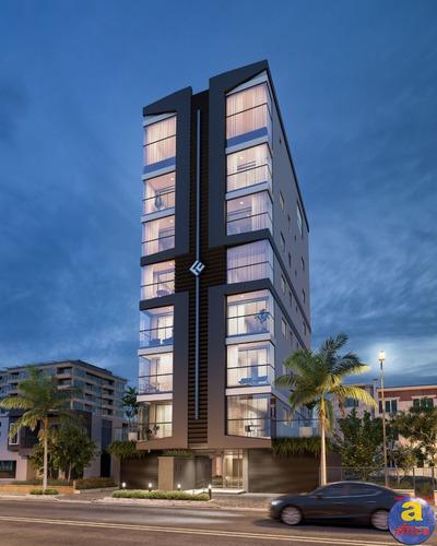 Imagem 1 de 8 de Apartamento 2 Suítes Com 1 Vaga De Garagem No Perequê Em Porto Belo/sc - Imobiliária África - Ap00414 - 69712245