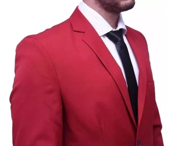 Terno Completo - Blazer+calça - Slim Fit - Corte Italiano